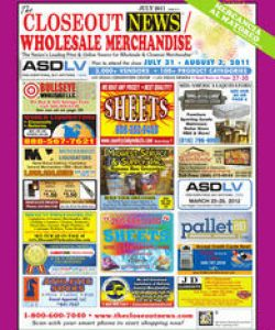 closeout news - wholesale merchandise